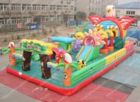 eagle project 14x7m inflatable bouncer