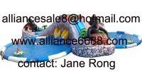 inflatable water slide jungle water paradise