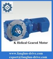 K series gear motor-helical reducer