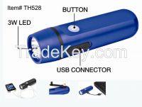 USB Rechargeable Led Flashlight