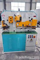 Hoston q35y series hydraulic ironworker