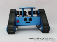 KR0001 RC Tri-Tracked Tank Robot Kit