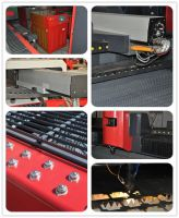 500W YAG Solid Metal Laser Cutting Machine