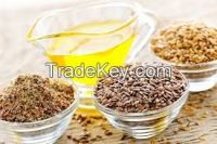 High  quality  Fax Seed Oil for  sale