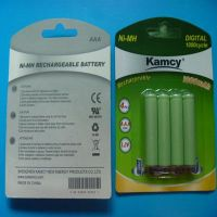 1.2V rechargeable cylindrical Ni-mh battery