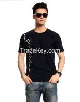 "Escobar HuckleBerry""Positive Navy Blue"" Men's T-Shirt"