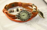 Leather Vintage Wrap Watches for Lady