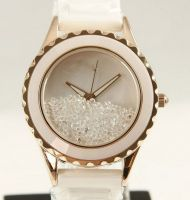 Luxury Sapphire Crystal Ceramic Watch for Lady