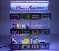 Acrylic Cell Phone Accessory Mobile Phone Charger Display Stand
