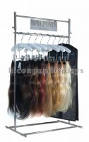 Counter Top Fashion Store Metal Wire Hair Extension Display Racks