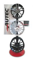Brand Name Freestanding Automotive Retail Store Metal Tire Display Rack
