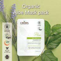 CHOBS Organic Aloe Vera Mask Pack