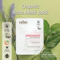CHOBS Organic Mask Pack Rose