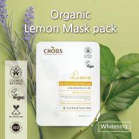 CHOBS Organic Mask Pack Lemon