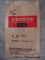 replacement of PVA sizing agent KS-218