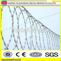 Barbed/razor wire