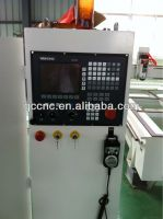 China Jinan INtech cnc router machine with stepper motor and 3kw water cooling spindle