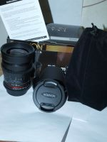 Rokinon 35mm T1.5 Cine Wide Angle Lens for DSLR CAMERAS with CASE