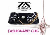 Zuffato Luxury Hand Braided Leather Clutch Bag