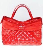 Zuffato Luxury Leather Hand Braided Women Bag