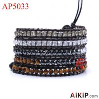 2014 latest fashion wrap bracelet