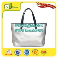 Flexo printing appearance with attractive payment method and ISO14001 certificate approved decorative PVC bag