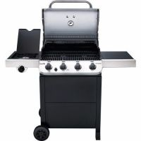 Char-Broil - Performance 475 4 Burner Gas Grill With Side Burner