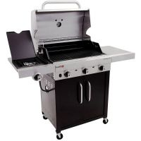 Char-Broil - Performance 450 - 24, 000 BTU 3 Burner TRU-Infrared With Side Burner