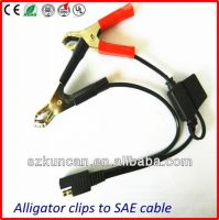 SAE solar cable with clip