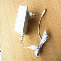 12 1.5A  EU white  AC/DC power adapter plug-in , power supply plug in  with UL,CE,ROHS