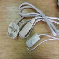 molded UK AC power plug