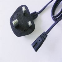 6ft C7 UK AC power plug szkuncan