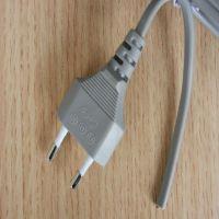 VDE 2 PIN Pin power cord