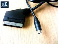 21pin scart cable to RCA cable for DVD