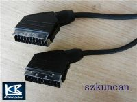21 pin scart cable to RCA 1.5m