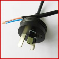 Australia 3 pin power lead plug