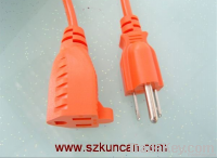 3-pin UL power cord with female C13 ends for extending