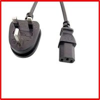 3-pin uk power cord