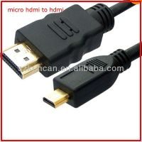 High speed PVC jacket OD 6.0mm HDMI Cable