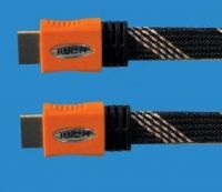 Version 1.4 hdmi cable supports 3D.ethernet,Audio Return