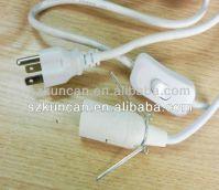 american ul power cord 10a/125v