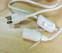 Home appliance american style power cord,