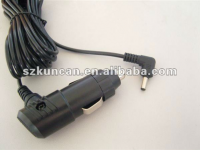 cigarette lighter extension cable with DC or USB Connector