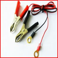 alligator clips charger cable