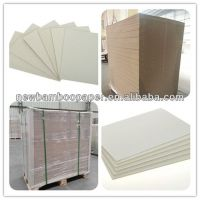 High quality laminated paper chip board