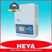 LCD display high accuracy wall mounted relay control voltage regulator
