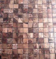 Aluminum Plastic Composite Mosaic   G - Shape   G - 45