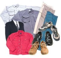 New Clothes and Shoes for Men, Women and Children