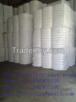 Recycled 1.4D*38MM raw white polyester staple fibre /PSF