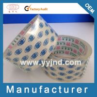 China Factory Acrylic Clear Bopp packing tape(YY-5461)